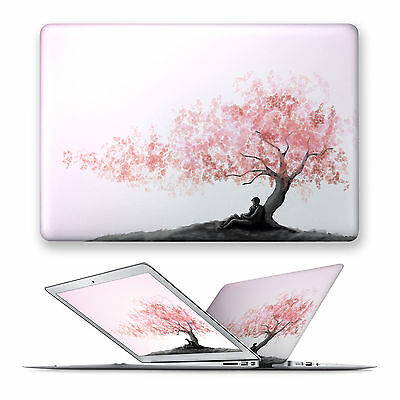 Cherry Blossoms Hard Front Case Cover For Apple Mac Macbook Air Pro 11 12 13 15