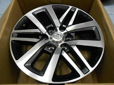 "NEW Genuine OEM Toyota Fortuner Wheels Rims 18"" 6H x PCD 139 4x4 4WD"