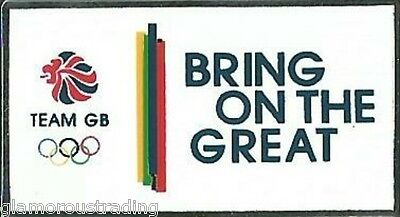 Official Team Gb Bring On The Great Rio 2016 Olympic Pin