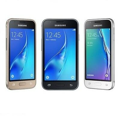 Brand New Samsung Galaxy J1 mini 8GB (2016) 5MP DUAL SIM Smart Phone - 3 Colours