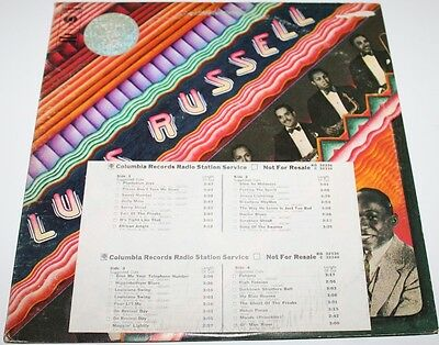 LUIS RUSSELL AND HIS LOUISIANA SWING ORCHESTRA [Vinyl LP] USA KG32338 Promo *EXC