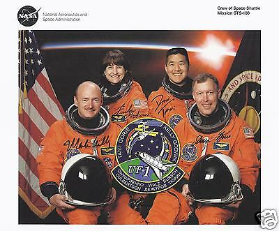 Space Shuttle Sts-108 Fully Signed Nasa Crew Photo - Uacc - Astronaut Autograph