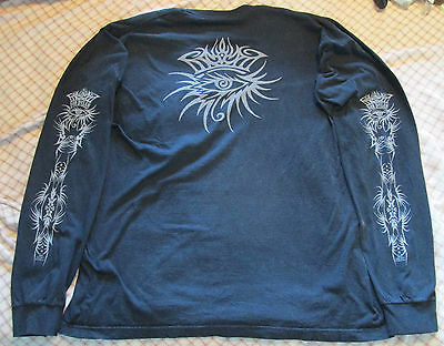 Bob Dylan 2006 Long Sleeve Shirt Size XL Black