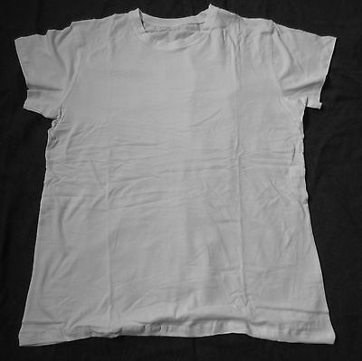 Wwii Us Army Infantry Army Issue Combat Serive White Tee Shirt- Size 4