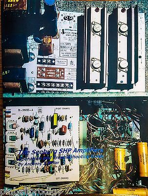 NOS The Seeburg SHP Amplifiers Operation and Troubleshooting Guide
