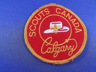 Boy Scouts Canada Calgary Cowboy Hat  Patch Collector Badge