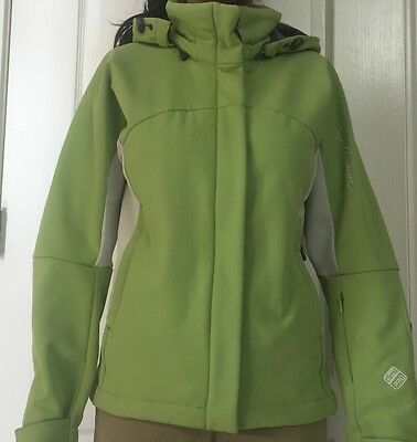 448eca589b Salomon Women Ski Jacket Size Small Soft Shell Clima Pro Acti Therm Smart  Skin