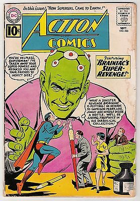 Action Comics #280 G-VG 3.0 Superman Brainiac!!