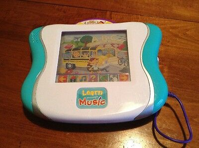 Fisher-Price Learn Through Music Touchpad With Leo & Friends Alphabet Museum