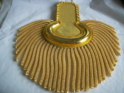 LIMITED TIME HOLADAY OFFER  Epaulettes GOLD Wire For Officers   Hi