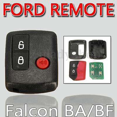 3 Button Keyless Entry Fob Remote For Ford BA BF Falcon Territory SX SY Wagons
