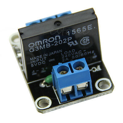 5V 1 Channel Solid-State Relay module Low Level Trigger 2A for arduino