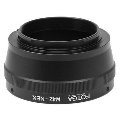 FOTGA M42 Lens to Sony E-Mount Screw Adapter Ring for A6000 A5100 NEX-7 A7R