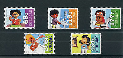 Curacao 2015 MNH Youth Care 5v Set Child Health Care Stamps