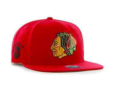 NHL Chicago Blackhawks Sure Shot '47 Captain Snapback