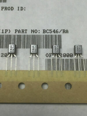 BC546 PHILIPS NPN SILICON TRANSISTOR TO92 (5, 10, 25pcs)