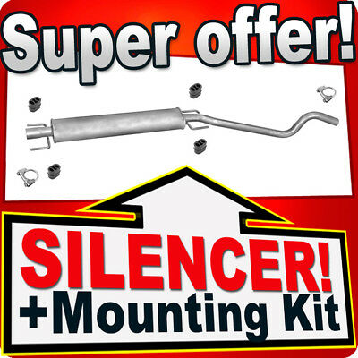 01//00-02//01 Centre Exhaust Middle Silencer Box for Renault Clio 2.0