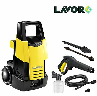 Lavor Time 110 Cold Water Pressure Washer Jet Wash 110 Bar 1700W W/ Accessories