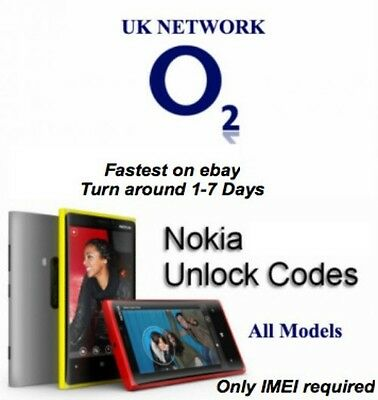 Unlocking Unlock FASTEST NOKIA O2 UK UNLOCK CODES FOR LUMIA ALL MODELS Incl 950