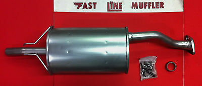 2006,2007,2008,2009,2010,2011 Honda Civic Si 2.0L Heavy Duty Muffler Assembly