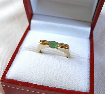 .21 Ct. Emerald Solitaire 10k Gold Ring