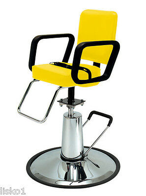 Pibbs 4370 BARBER HAIR SALON KIDS STYLING CHAIR WITH SAFETY BELT