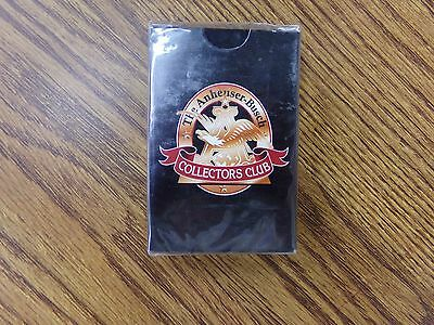 The Anheuser-Busch Collectors Club Deck of Playing Cards NEW ~ Sealed