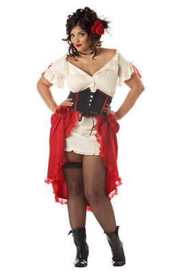 Brand New Fiesta Cantina Gal Plus Size Halloween Costume
