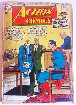 ACTION COMICS 301 DC Silver Age 1963 The Trial Of Superman