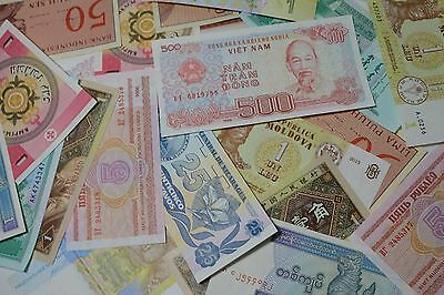 World Banknotes---Lot Of 5---Uncirculated Paper Money