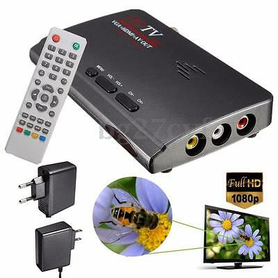 Digital Terrestrial DVB-T/T2 1080P HDMI Tuner Receiver Box VGA AV for LCD TV PC