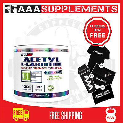 Ehp Labs Acetyl l-carnitine | 100 Serve Creatine Gym Fitness Supplement Stregth