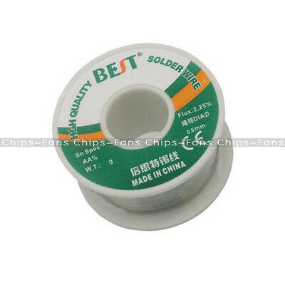 100g A roll of 0.5mm Tin Lead Rosin Core Solder Soldering Wire New