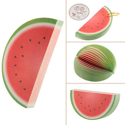 Notepad Memo Stationary NOTES Watermelon Writing Sticker Marker Flags Sticky