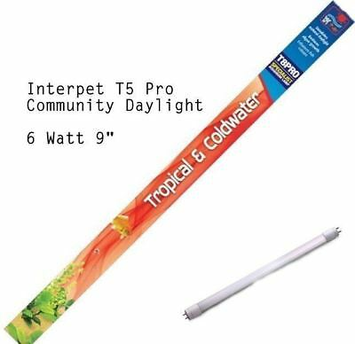 "Interpet T5 Community Daylight 6w 9"" Light Bulb Tube Fish Tank Aquarium Lighting"