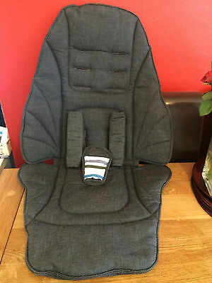 Mamas Papas Sola/Zoom/Glide/Urbo *SEAT cover & Matching HARNESS PADS** in DENIM