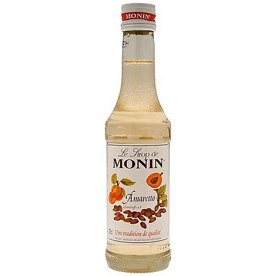 MONIN Amaretto Coffee Syrup 25 CL - ideal size for trying out this flavour!