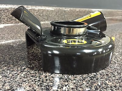 "NEW 7"" Convertible Dust Shroud for metabo dewalt makita bosch angle grinders"