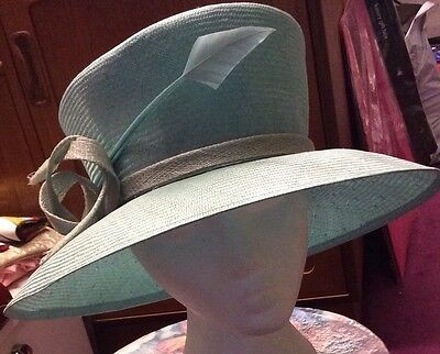 Gorgeous Green Wedding Hat By Jacques Vert BNWT mint? Races