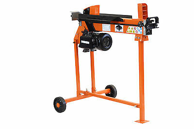 Hydraulic Electric Log Splitter Axe Timber Cutter Free Stand Heavy Duty