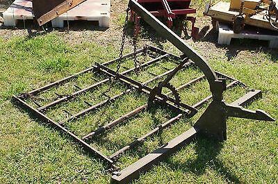 1pt Peg Tooth Harrow 1 Point Hitch Fast Hitch IH Farmall Cub Super A 100 130 140