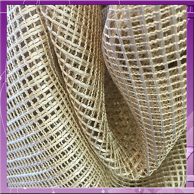 100% Nylon Mesh 8 Feet Wide / 96 Incehs Wide Fabric Matte Gold Sold By The Yard