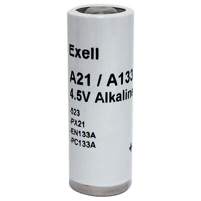 Exell Battery A21PX Battery Fits Classic Cameras, Apple Macintosh Computers PRAM