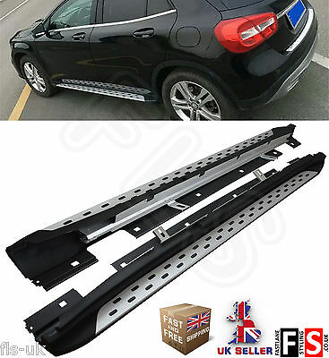 Mercedes Benz Gla - Class 2014 Up Oem Style Side Steps Running Boards Aluminium