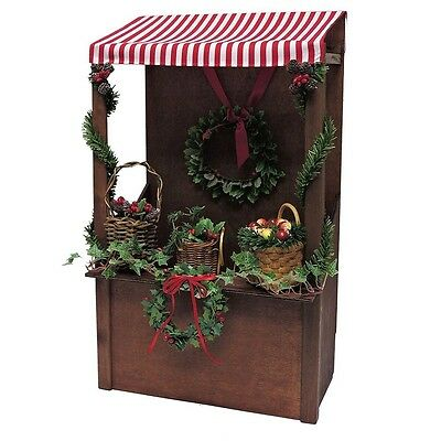 Byers Choice Carolers 2016 Evergreen Market Stall & Family NEW