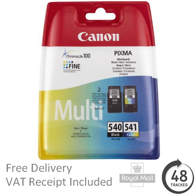 Original Canon PG540 CL541 Combo Pack - For Canon Pixma MG3550