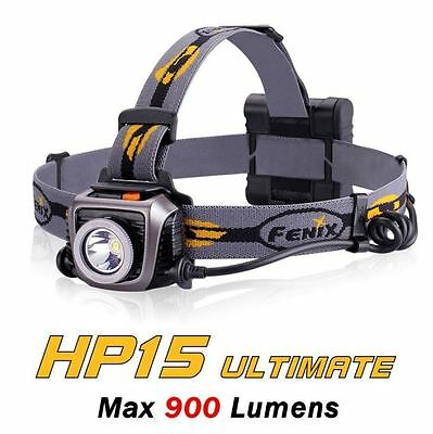 Fenix HP15 Ultimate Edition Head Torch - 900 Lumens 4 x AA batteries included
