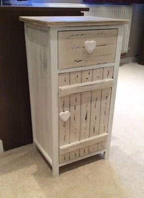Ivory Heart Chest Of Drawers Girls Bedroom Dressing Room French Shabby Chic