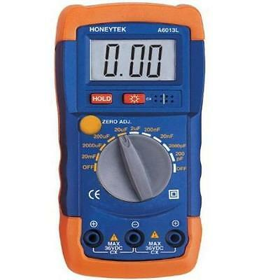 Honeytek A6013l Capacitor Tester 9 Measuring Ranges From 200Pf To 20Mf New Gift