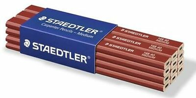 Staedtler Carpenter Pencils Medium Amazing Price Phenominal Quality 12Pcs